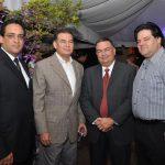 Martín Rosario, Irving Vargas, Amilkar Kalaf e Ivan De Dios