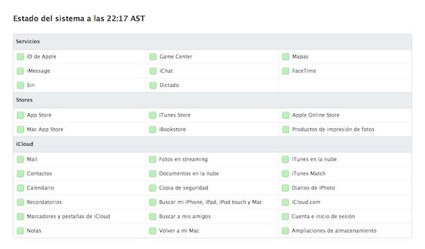 Servicios de Apple, Stores y iCloud