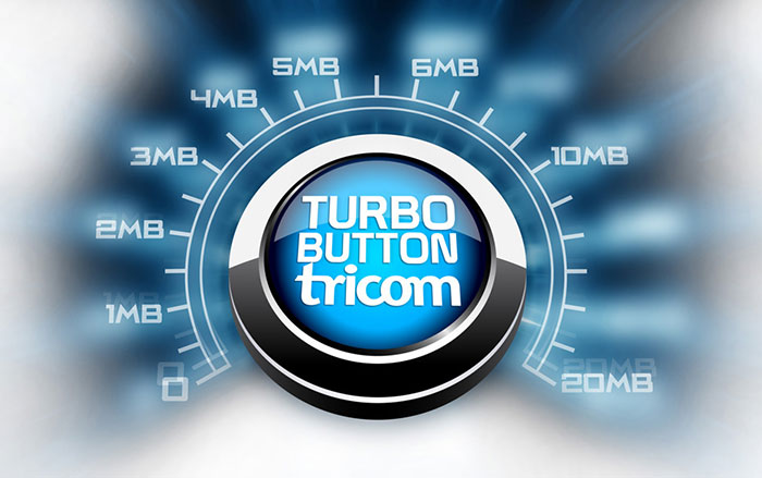 tricom permite subir velocidad de internet por los d as