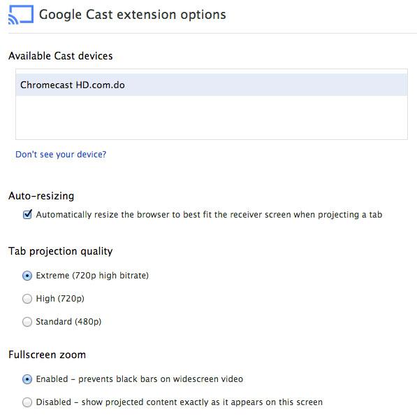 chromecast-extension